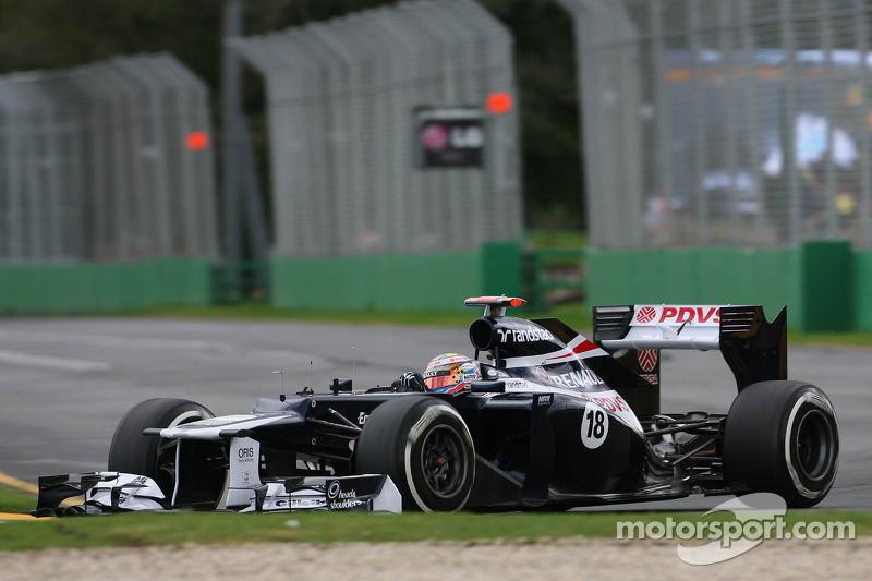 Williams Australian GP - Melbourne race report