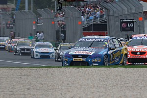 V8 Supercars Winterbottom Too Strong In Qualifying Race