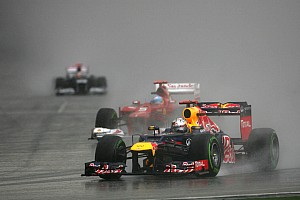 Formula 1 Vettel loses cool as Red Bull loses edge in 2012