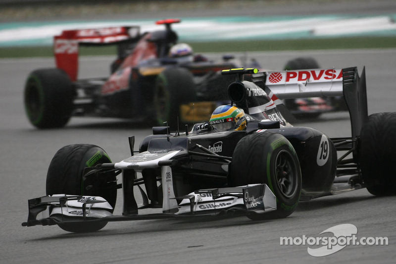Williams Malaysian GP - Sepang race report