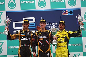 Series Sepang race 2 report