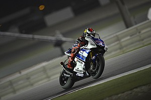 MotoGP Lorenzo leads the way at Qatar