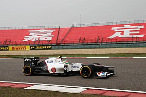 Formula 1 Sauber Chinese GP - Shanghai qualifying report