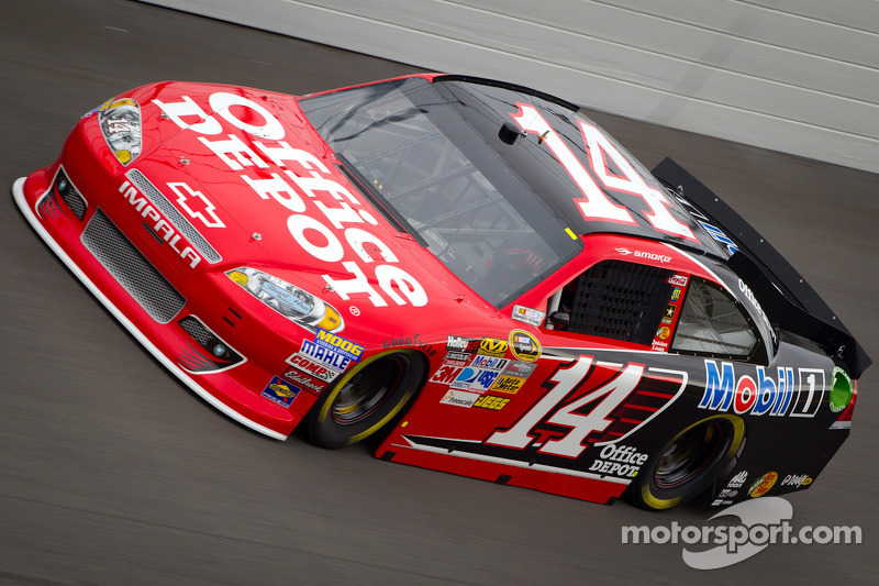 Tony Stewart riding on championship cloud