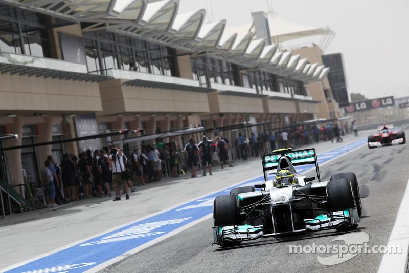 Mercedes Bahrain GP - Sakhir qualifying report