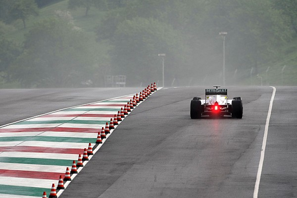 Rain hampers first in-season testing day at Mugello