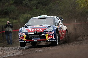 Citroen  Rally Argentina day 1 report