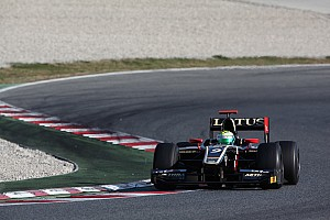 GP2 Calado claims maiden pole with superfast lap in Barcelona
