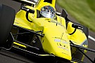 Josef Newgarden fastest on Indy opening day 
