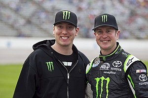 Kurt Busch looks for a busy weekend at Iowa