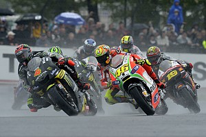 Tech 3 riders add excitement in home French GP's race