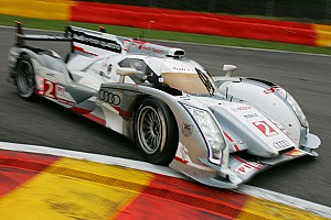 Le Mans Audi R18 e-tron quattro: heading for Le Mans with all-wheel drive