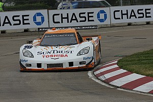 Angelelli, Suntrust Corvette to start in 2nd at Detroit GP