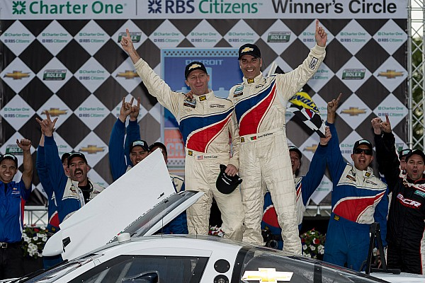 Action Express Sweeps DP race at Belle Isle