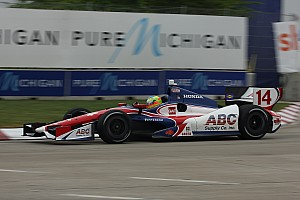 Conway breaks Foyt top-10 drought with Belle Isle finish