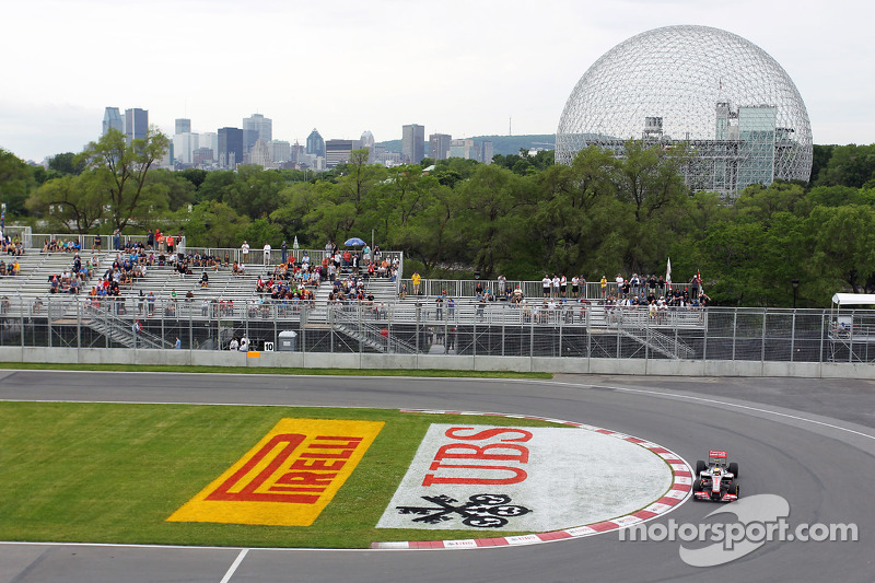 Hamilton starts Canadian GP on positive note, Button does not
