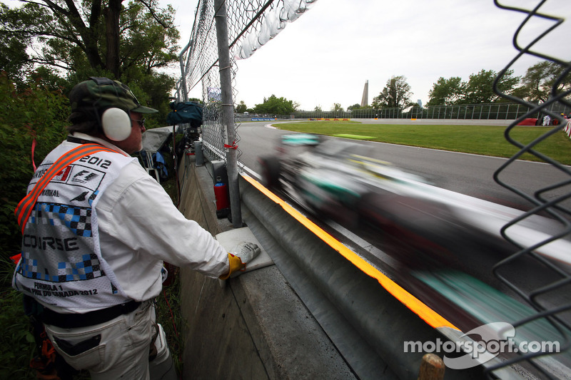 Weather fury in Montreal waits for Friday practice