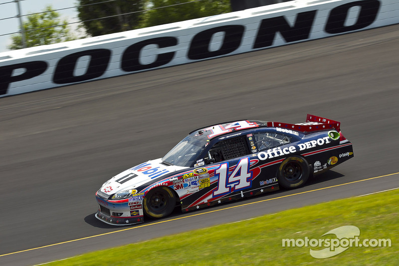 Stewart, Chevrolet drivers comment on Ponco race