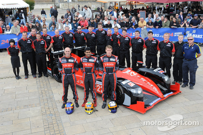 JRM Racing gets closer to Le Mans debut