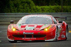 Le Mans Luxury Racing puts their Ferrari F458 Italia on GT pole