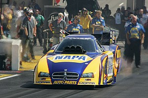 NHRA Preview Funny Car driver Ron Capps riding wind of success heading to chicago