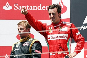 Alonso puts in stunning performance for victory in Valencia