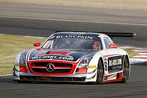 Blancpain Sprint Race report Winkelhock and Basseng score first victory for Mercedes