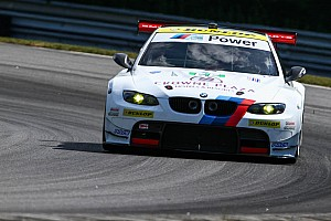 ALMS Qualifying report BMW Team RLL's Auberlen claims GT pole at Lime Rock