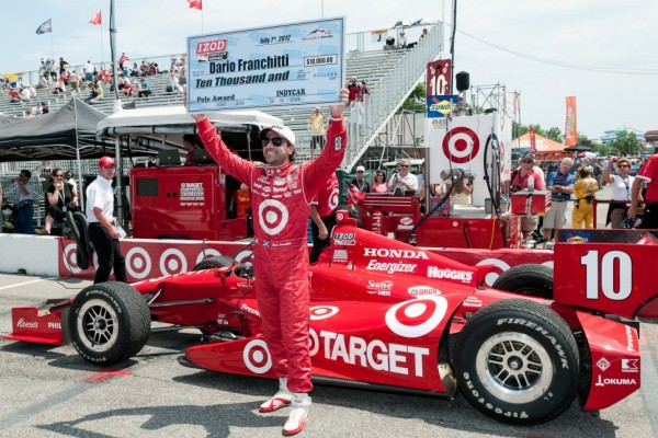 Franchitti steals Honda Indy Toronto pole away from Power