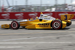 IndyCar Race report Castroneves posts career-best finish at Toronto to lead Team Penske
