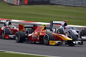 Racing Engineering drivers fight hard in the Silverstone Sprint Race