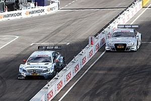 DTM Race report A thrilling relay competition: Schumacher and Green claim victory for Mercedes-Benz in Munich