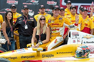 IndyCar Preview Ryan Hunter-Reay leads Chevrolet charge to Edmonton