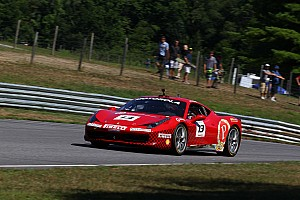 Ferrari Race report Triarsi and Kauffmann win Stars 'n Stripes round at Lime Rock