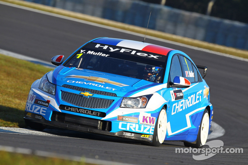 Five Chevrolet Cruzes in top six at Curitiba qualifying