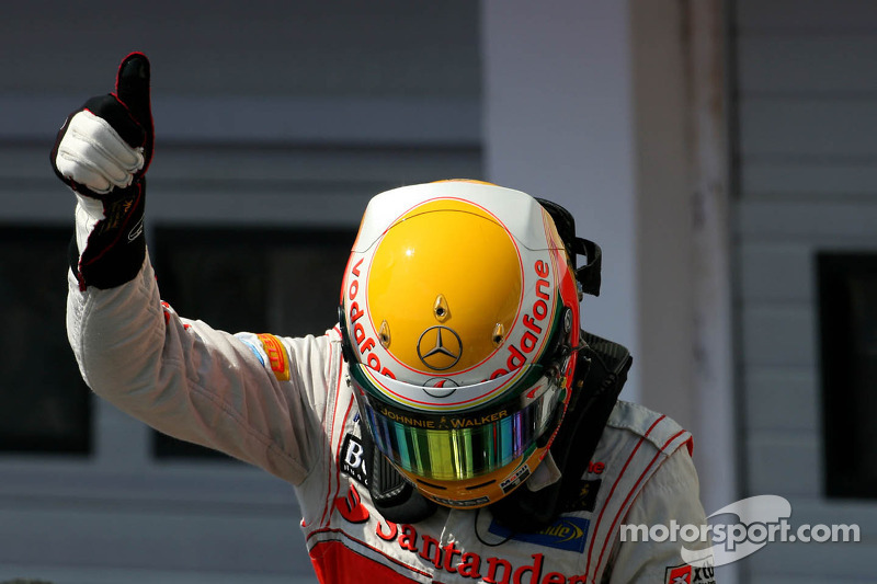 McLaren's Hamilton nails down the Hungarian GP pole in Budapest