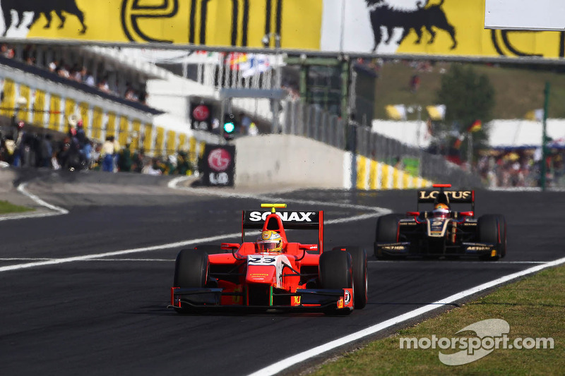 Bright start helps Razia to Budapest Feature Race podium