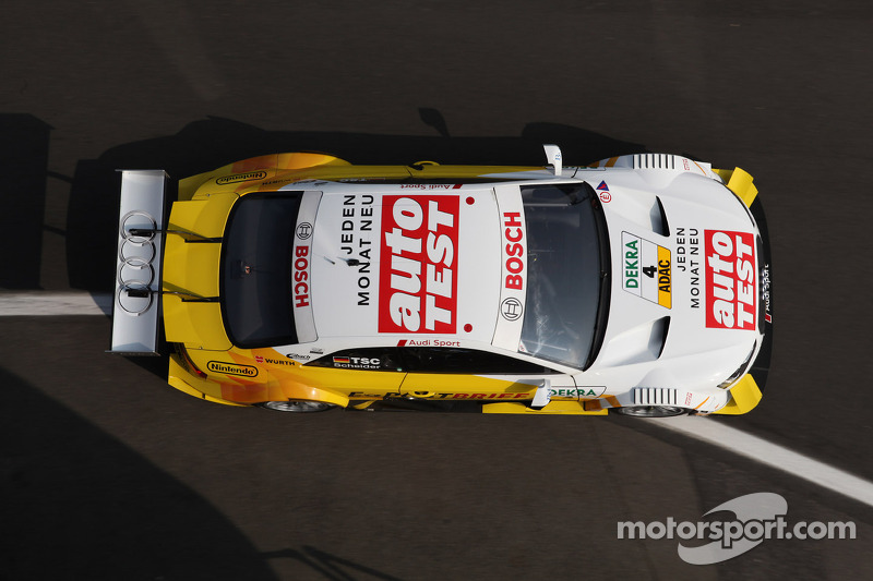 Audi test A5 DTM at Magny-Cours