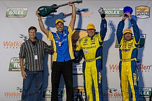 Grand-Am Race report Bill Auberlen gets 85th career win in race at Watkins Glen
