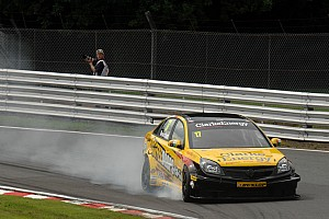 BTCC Race report Dave Newsham takes team ES Racing to victory