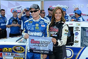 NASCAR Sprint Cup Qualifying report Veteran Martin captures first Michigan pole