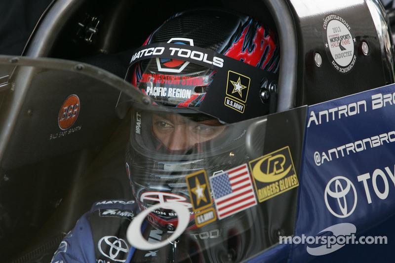 Schumacher, Brown put DSR Top Fuelers 1-2 in Brainerd Friday qualifying