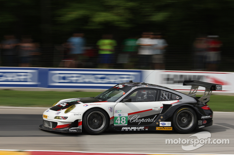 Third top five in seven 2012 races for Miller and Maassen at Road America