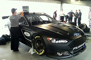 NASCAR Sprint Cup Testing report Martinsville Speedway test session first on-track look of  2013 Fusion stock car