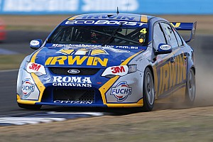 V8 Supercars Race report Tough finish after positive start to the day for IRWIN in Sydney