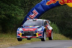 WRC Leg report Loeb continues to command Rallye Deutschland at end of leg two