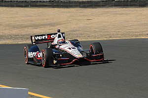 IndyCar Qualifying report Power scores third-straight pole at Sonoma