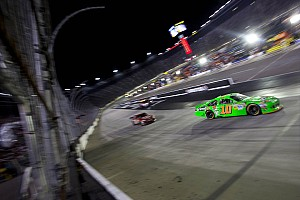 NASCAR Sprint Cup Race report Patrick's solid Bristol night ends in late accident