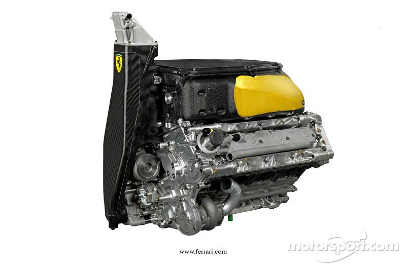 Ferrari fires up V6 on test bench