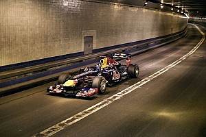 Formula 1 Special feature Red Bull New York & New Jersey show car run - full video